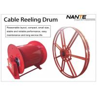 China Red Color Motorized Cable Reeling System With Optimal Corrosion Protection on sale