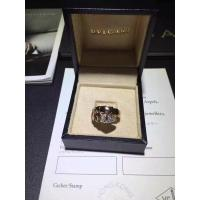China Bvlgari Serpenti one-coil ring in 18 kt rose gold, set with pavé diamonds on the head. brand jewelry for sale
