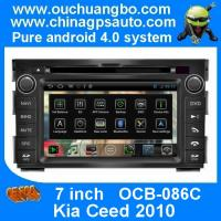 Wholesale Ouchuangbo Android 4.0 Car 3G Wifi GPS Navigation for Kia Ceed 2010 with S150 Radio Stereo USB RDS OCB-086C from china suppliers