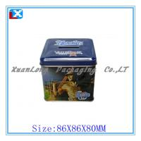 Wholesale Colorful rectangular metal pencil tin box from china suppliers
