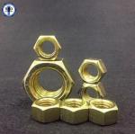 Hex Nuts SAE J995 Gr8 Zinc Yellow