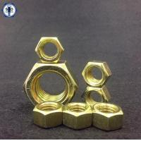 Buy cheap Hex Nuts SAE J995 Gr8 Zinc Yellow from wholesalers