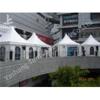 Wholesale White Square 5X5 M High Peak Tents Booth , High Peak Marquees Eco Friendly from china suppliers