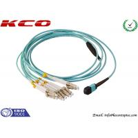 Single Mode MPO MTP Patch Cord 8 Cores LC 10G OM3 Patch Cord