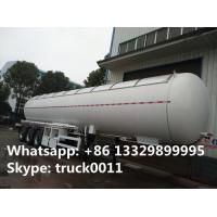 CLW brand 58500Liters bulk lpg gas trailer with sunshield cover for sale, best price propane gas tank trailer for sale for sale