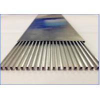 China Heater Welding Aluminum Tubing , High Frequency Welded Aluminum Rectangular Tubing on sale