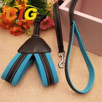 Wholesale 2018 Hot Sell Dog Chain Leash Traction Rope Safety Pet Polyester Harness Leash For Dog from china suppliers
