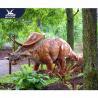 Mechanical Animatronic Outdoor Dinosaur Garden Statue Attractive For Exhibit for sale
