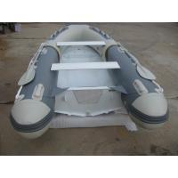 Wholesale Front Locker Aluminum Rib Boat double layer flat bottom  4 Person Inflatable Boat PVC tube from china suppliers