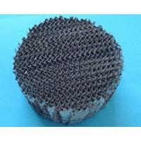 Wholesale Metallic Structure Packing for Solvent Recovery from china suppliers