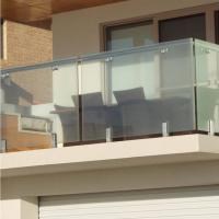 Wholesale High Quality Modern Design Stainless Steel and Glass Balcony Railings from china suppliers