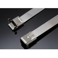 Buy cheap Uncoated Ss Wire Ties , Wire Reinforced Cable Ties Metal Lock Acid Resistance from wholesalers