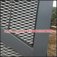 Buy cheap External Expanded Mesh facade/Expanded Metal mesh facade panel from wholesalers