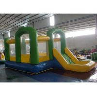 Quality Inflatable Jumping House Combo , Inflatable Bouncy Castle With Water Slide for sale