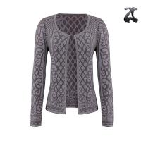 Wholesale Simple Womens Shrug Sweater Soft Feel Jacquard Knitting Patterns Lurex Viscose from china suppliers