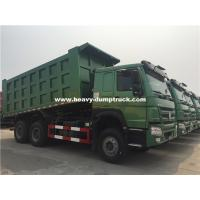 Wholesale 20m³ HOWO 6x4 371hp Dump Truck Installed With HYVA Brand Middle Lifting With High Lifting Capacity from china suppliers