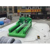 Wholesale 0.55MM PVC Tarpaulin Double Lanes Jumping Bungee Run Game EN14960 from china suppliers