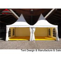 Buy cheap 4x4m Waterproof Pagoda Party Tent / Outdoor Canopy Gazebo White Color from wholesalers