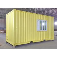 Quality 20ft modular container house container living house for sale