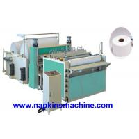 Wholesale Automatic Jumbo Roll Slitting Machine , Kitchen Towel Paper Roll Slitter from china suppliers