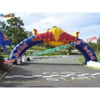 Promotional Large Inflatables Advertising Arch Door rip-stop nylon material