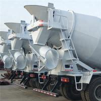 China High Strength Concrete Mixer Truck With 4 Cubic Meter Mixing Capacity on sale