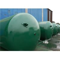 Quality ASME Approved Horizontal Air Receiver Tanks For Air Compressors Systems for sale