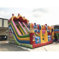 Buy cheap Customized Mickey Mouse Inflatable Jumping Castle Slide For Backyard from wholesalers