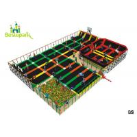 Buy cheap Soft Kids Indoor Trampoline , Professional Jump Bed Bounce Trampoline Park from wholesalers