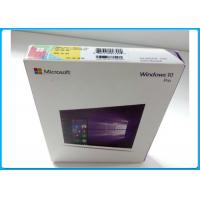 Wholesale Multi - Language Product OEM Key Microsoft Windows 10 Pro Pack With DVD OEM from china suppliers