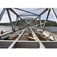 Wholesale Prefabricated Q355 Steel Modular Galvanized Steel Bailey Bridge For Traffic Construction from china suppliers