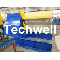 Wholesale Custom Hydraulic Auto Recoiler Curving Machine With 0 - 15m/min Rewind Speed from china suppliers
