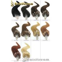 Wholesale Loop Mirco Ring Hir Extension Color 1 2 4 613 1g/pc 20 22 Keratin Loop Hair Extension from china suppliers