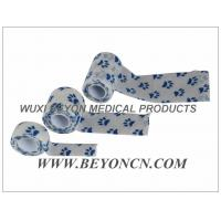 Wholesale Paw Prints Custom Printed Athletic Training Tape Bandages Cohesive Elastic Bandage from china suppliers