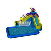 Wholesale Funny aqua park water games,cheap piranha inflatable water park with pool for land from china suppliers