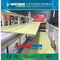 Wholesale PVC ceiling panel extrusion machine plastic wall board extrusion line from china suppliers