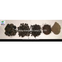 China Brown Fused Aluminum Oxide Abrasive Media With Angular Shape And Extreme Durability on sale
