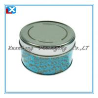 Wholesale christmas round gift tin box from china suppliers