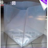 Wholesale Big durable transparent hdpe plastic pallet covers, Reusable Waterproof Plastic PVC Pallet Cover,100% Polyester from china suppliers