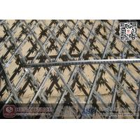 Wholesale Diamond Welded Razor Mesh Fencing | 150X300mm Hole | 1.8mX6.0m from china suppliers