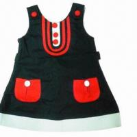 China Baby dress in fashionable style, ideal for infants and toddlers on sale