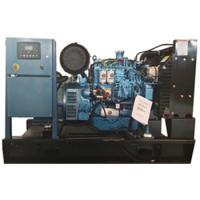 Durable / Compact Marine Diesel Generator 24KW Electric Starting Four Stroke Cycle for sale