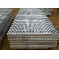 Wholesale Sliver Color Platform Steel Grating Industrial Floor Grates Plain Type from china suppliers