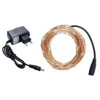 Wholesale IP65 Waterproof 10m USB powered led copper Wire String Decoration lights Festival lamp with switch from china suppliers
