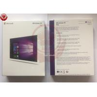 Wholesale Win 10 Pro OEM Software / Windows 10 Product Key Code 64 Bit With DVD from china suppliers