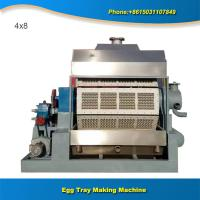 China Recycled pulp egg tray making machinery production line on sale
