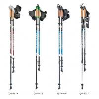 Wholesale Nordic Walking Stick aluminum 7075 Trekking Poles  Telescopic Climbing Equipment Aluminum  Hiking Trekking Poles from china suppliers