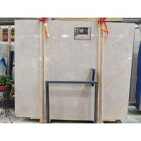 Wholesale Beige marble design crema marfil marble cheap price Nizwz K3 Baiyulan marble flooring tile from china suppliers