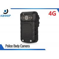 Quality LTE 3G / 4G WIFI Bluetooth Body Camera Recorder , Small Police Using Body for sale