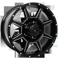Wholesale 17x8.5 18x8.0 4x4 Custom Wheels from china suppliers